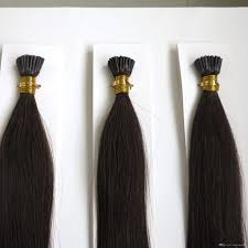 bonding extensions hair keratin i tip pre bonded human hair
