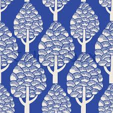 retro style blue vector background seamless pattern fabric