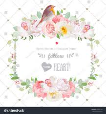 square vector design frame orchid wild stock vector 639951148