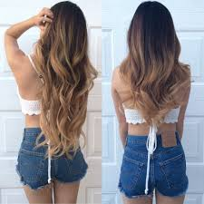 Before After Hair Extensions by 22 Inch Hair Extensions Clip In Before And After U2013 Trendy