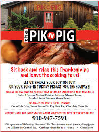 order a pre cooked thanksgiving meal in county nc eats