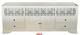 White Lacquer Credenza Cabinets U2013 Mortise U0026 Tenon