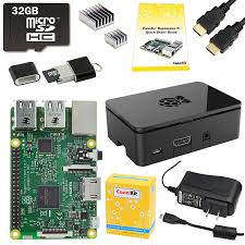 canakit raspberry pi 3 complete starter kit 32 gb edition