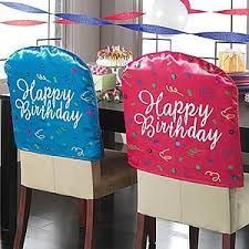 birthday chair cover happy birthday theme party planning ideas supplies