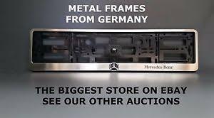 mercedes license plate holder metal frame steel holder for european license plate stainless