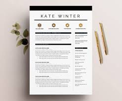 interesting decoration cool resumes templates cozy ideas creative