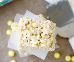 lemonhead rice krispie treats 5boysbaker