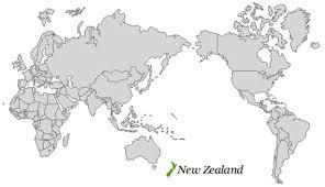 location of australia on world map location new zealand travel information network