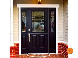 Therma Tru Exterior Door Fiberglass Doors Pros And Cons Entry With Sidelights Therma Tru