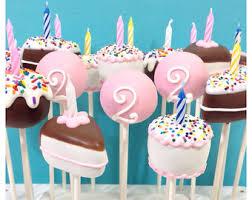 birthday cake pops 24 custom cake pops with photo qr code company logo name