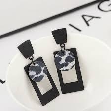 Designer Chandelier Earrings 2017 Fashion Leopard Drop Earrings High Quality Designer