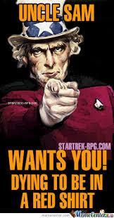 Sam Meme - starfleet uncle sam by morrigan meme center
