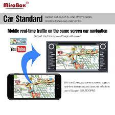 mirror link android mirabox car wifi mirrorlink box a v hdmi rca cvbs support built in