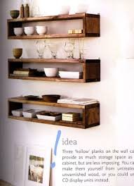 it followed me home stunning floating timber shelves interior