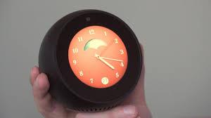 Futuristic Clock The Amazon Echo Spot Might Be The Smartest Alarm Clock Ever
