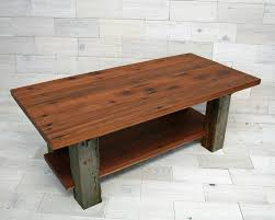 Barn Wood Coffee Table Dichotomy Coffee Table 42 Made From Reclaimed Redwood And Barn Wood