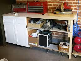 best plans garage workbench simple garagerkbench excellent pictures concept