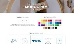 5 free monogram generators and makers