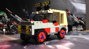 lego jurassic park jeep wrangler instructions lego jurassic park nedry u0027s jeep deutsch by titanic1112 youtube