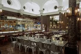 antipasti bar and open kitchen in the cambridge restaurant by