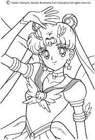 sailor moon u0027s sign coloring pages hellokids