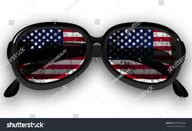 Flag Sunglasses Sunglasses Us Flag Stock Vector 437350435 Shutterstock