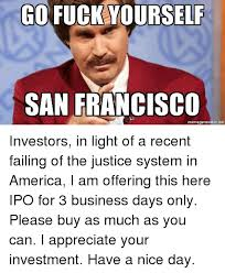 Business Meme Generator - go fuckyourself san francisco memegeneratornet america meme on