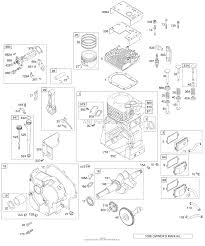 briggs and stratton 19g412 1187 e1 parts diagram for crankcase