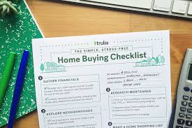 trulia u0027s home buying checklist trulia u0027s blog real estate 101