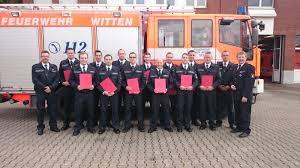 Feuerwehr Bad Kreuznach Fw Witten Seltenes Jubiläum Bei Der Feuerwehr Witten
