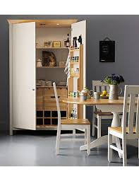 marks and spencer kitchen furniture padstow 2 door larder unit putty m s
