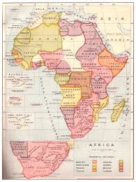 Africa Maps by Africa Map Strand Album 1908 Philatelic Database