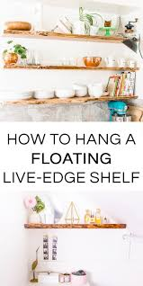 Floating Wood Shelves Diy by How To Hang Solid Wood Floating Shelves
