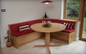 oak kitchen tables with bench seating