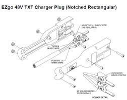 golf cart charger plug u2013 ezgo 48v txt powerwise with notch