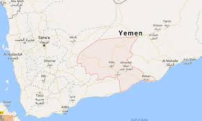 where is yemen on the map 20 us strikes target aqap 9 militants dead
