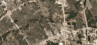 Zip Code Map Houston by New Satellite Photos Reveal Extent Of Harvey Flooding In Houston