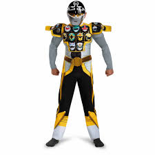Power Rangers Halloween Costumes Adults Silver Ranger Gold Muscle Child Halloween Costume Walmart