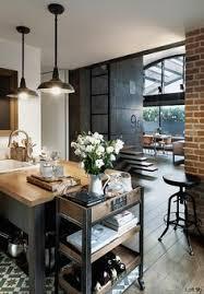 cuisine dans loft loft com estilo industrial o projeto apaixonante do loft 9b