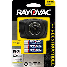 rayovac workhorse pro 3aaa led virtually indestructible headlight
