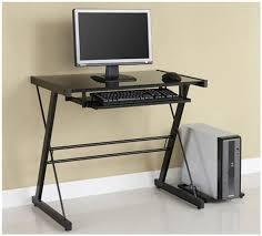 Small Office Computer Desk Condo Desk Small Desk Glass Desk Computer Desk Office Furniture