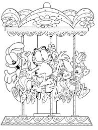 garfield coloring page garfield pinterest coloring books