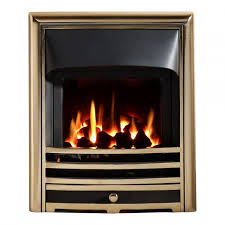aurora he glass fronted convector gas fire