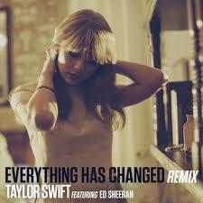 everything has changed testo everything has changed testo feat ed sheeran