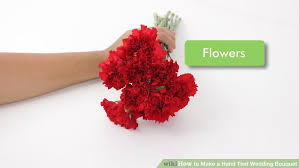 how to make a wedding bouquet how to make a wedding bouquet 13 steps with pictures