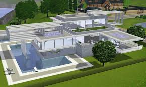Home Design Career Sims 3 Sims 3 To The Future Modern Villa By Ramborocky On Deviantart
