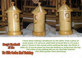 Woodworking Shows Uk 2012 by Woodturning A Birdhouse Youtube