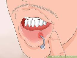 lip rings images How to take care of a lip piercing with pictures wikihow jpg