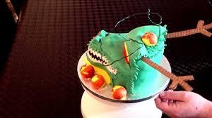 dragonball z birthday cake shenron dragon youtube