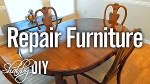 repair scratches on furniture with polyurethane wood finish youtube